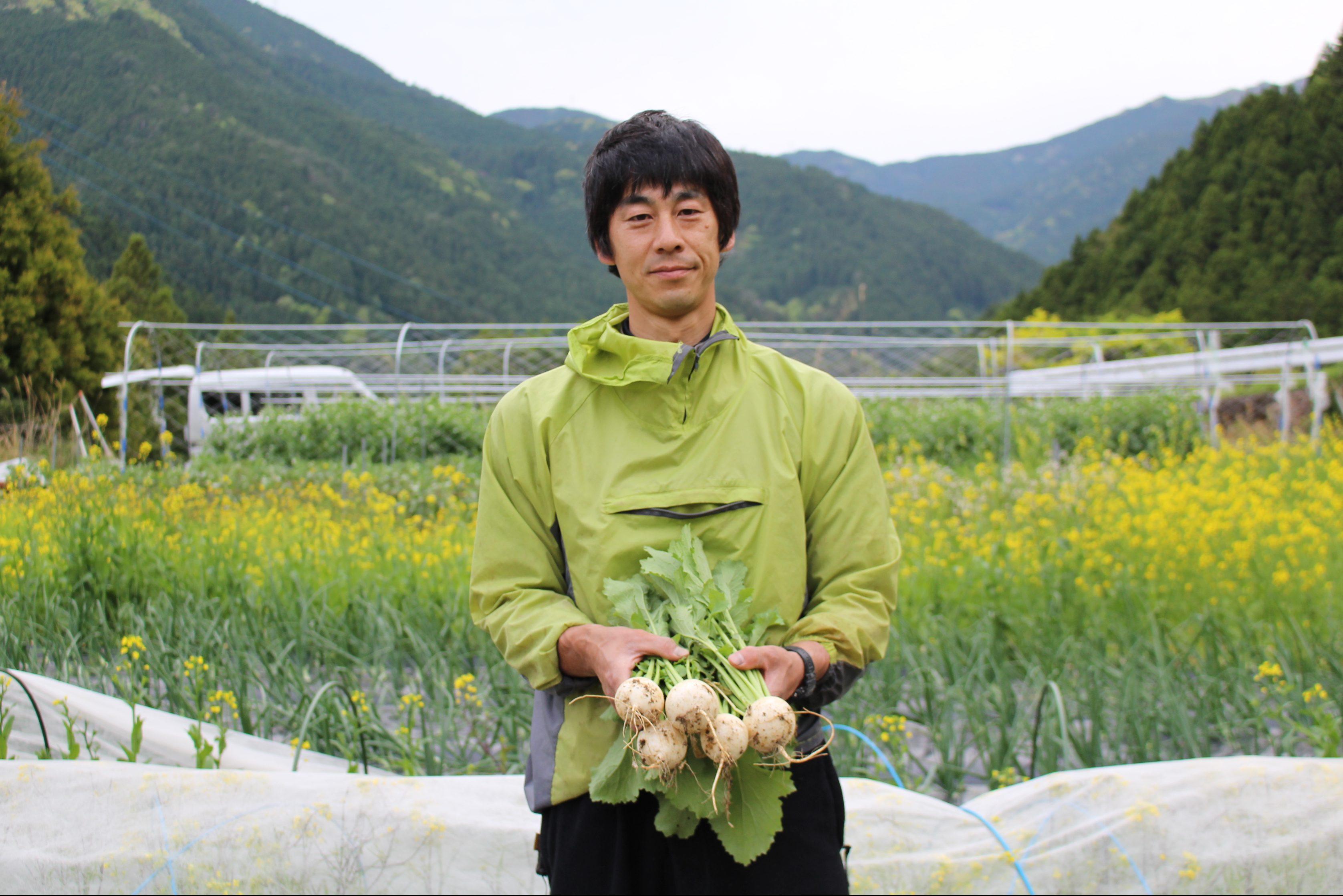里山を次世代に。有機農業による挑戦。