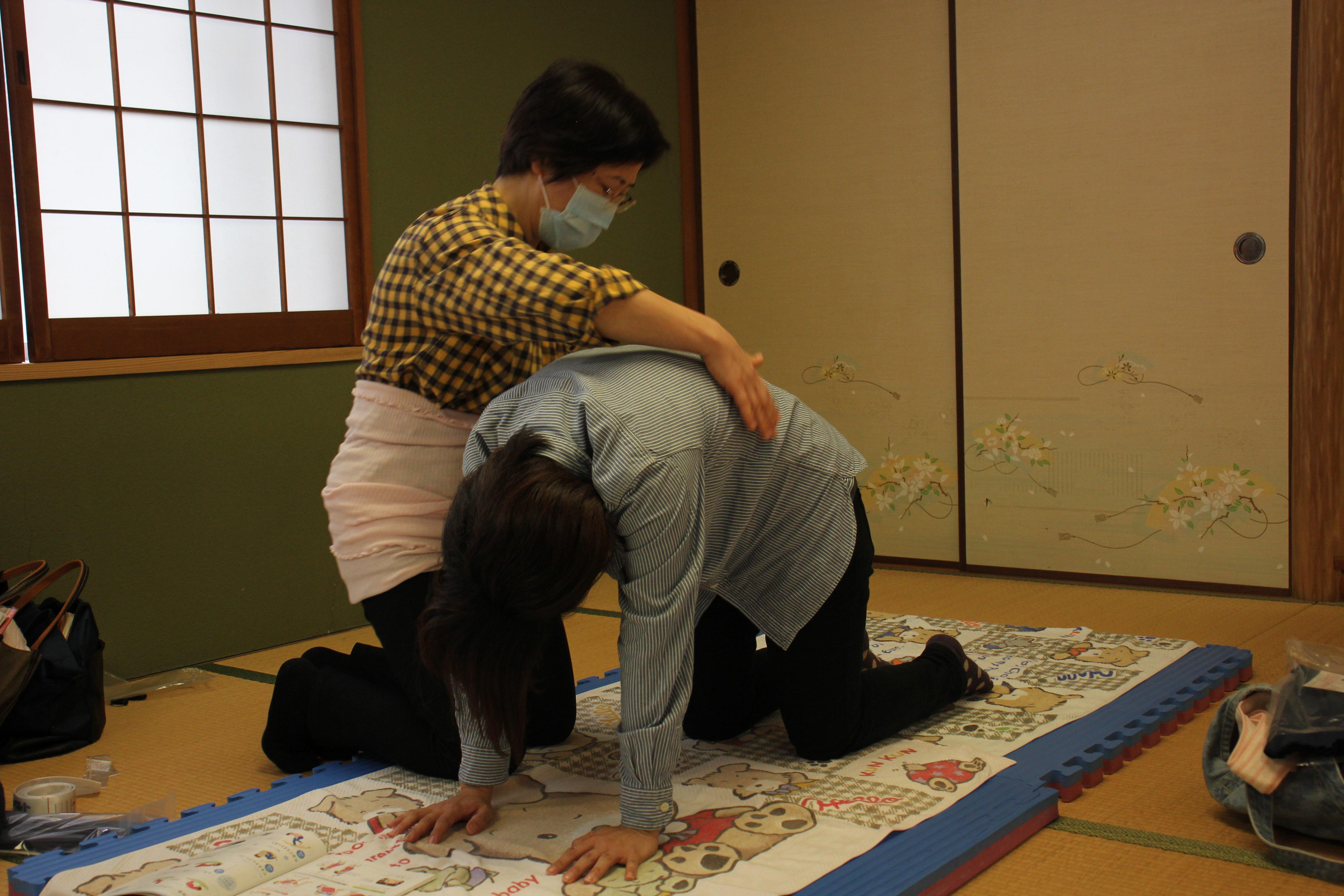 妊娠体験~助産師教室~